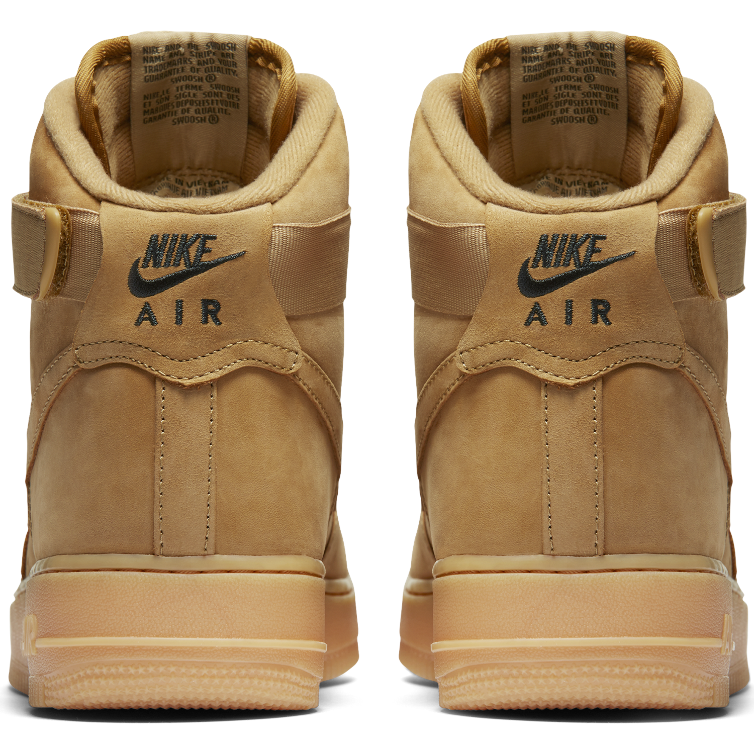 BUTY MĘSKIE NIKE AIR FORCE 1 HIGH 07 LV8 FLAX 882096-200