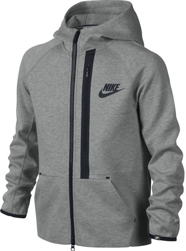 Bluza Nike YA76 Tech Fleece FZ Hoody YTH 619063 063