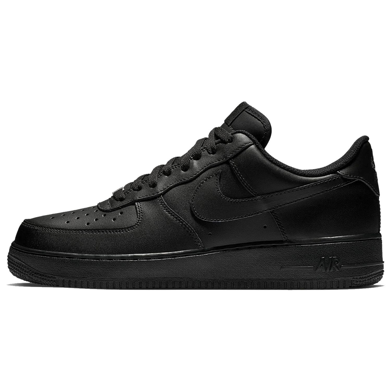 Buty męskie Nike Air Force 1 '07 All Black 315122 001