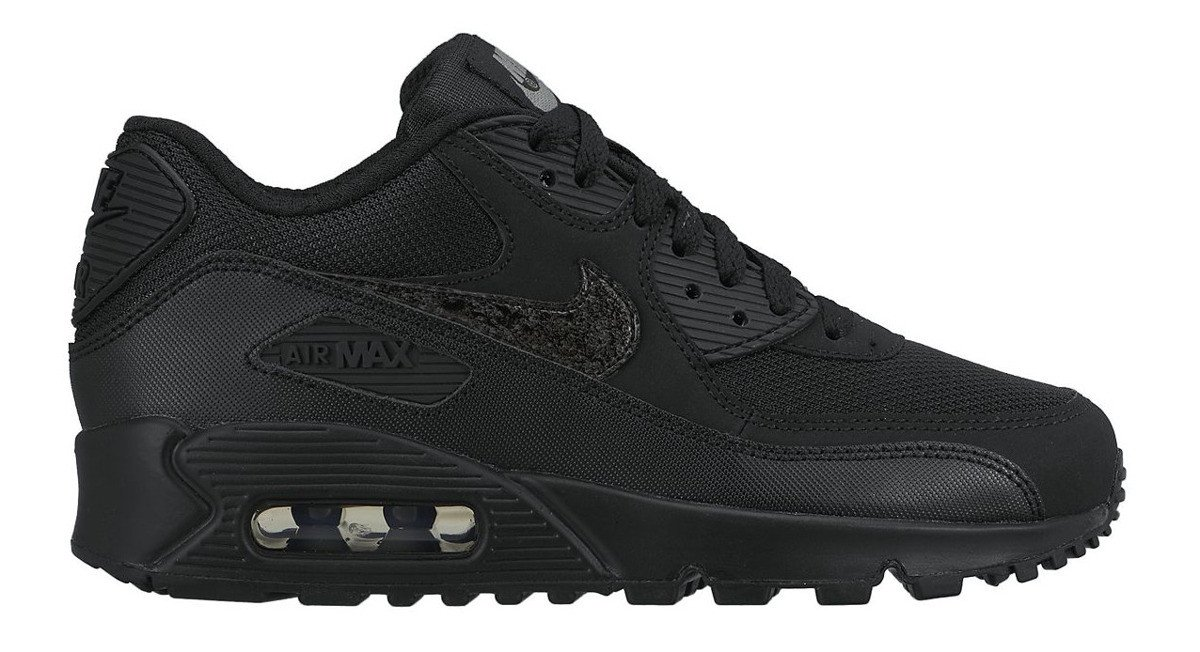 Nike Air Max 90 Mesh (GS) Black 724824 001