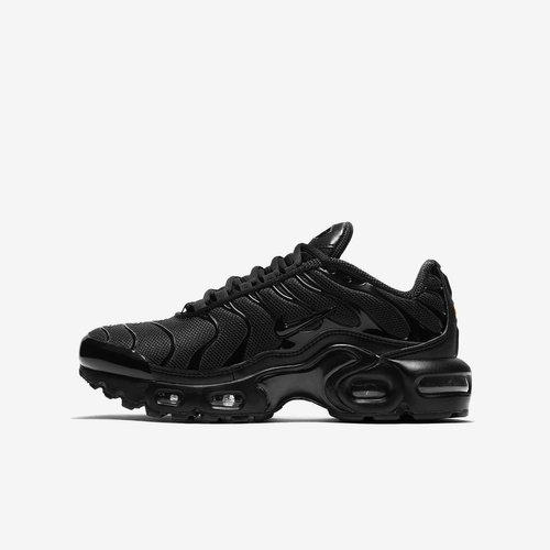 BUTY JUNIOR NIKE AIR MAX PLUS CZARNE CD0609-001