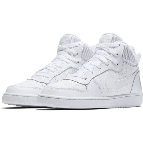 BUTY JUNIOR NIKE COURT BOROUGH MID BIAŁE 839977-100 (GS)